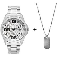 Relógio Condor Masculino Speed Prata - CO2115KSY/K3K