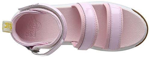 Dr. Martens Unisex-Kinder marabel Y Knöchelriemen Sandalen Rosa (Baby Pink Patent Lamper)