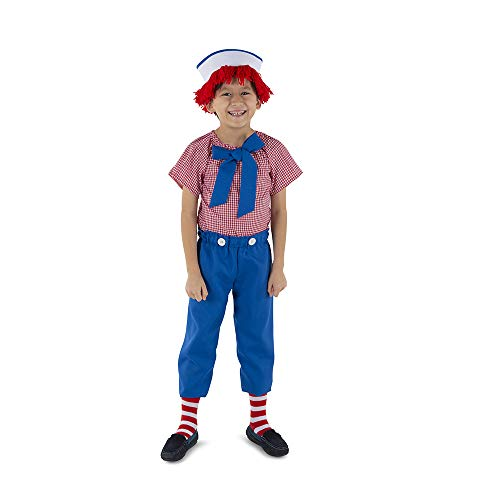Boy Rag Doll Costumes - Dress Up America Rag Boy Costume - Product Comes Complete with: Shirt