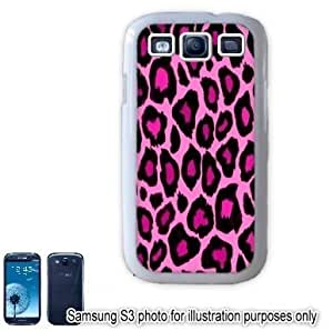 Pink Leopard Animal Print Pattern Samsung Galaxy S3 i9300 Case Cover Skin White