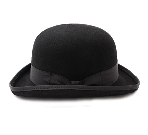Nativos - Chapeau melon feutre Bowler fully lined