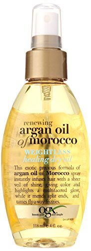 Ogx Moroccan Argan Oil Weightless Dry Oil 4oz (Organix Moroccan Argan Oil)