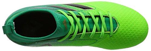 Bota de fútbol adidas jr Ace 17.3 Primemesh Turf Solar green-Core black Solar green-Core black