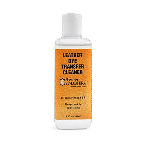 Leather Master Leather Dye Transfer Cleaner (8.45 oz) - Denim Dyes