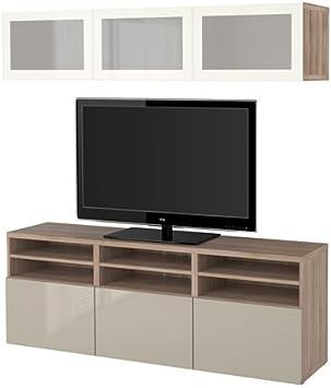 Ikea 12202.261714.1426 - Mueble de TV con puertas y cajones de ...