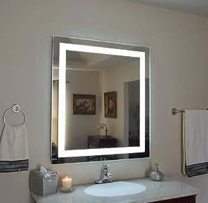 Amazon.com: Wall Mounted Lighted Vanity Mirror LED