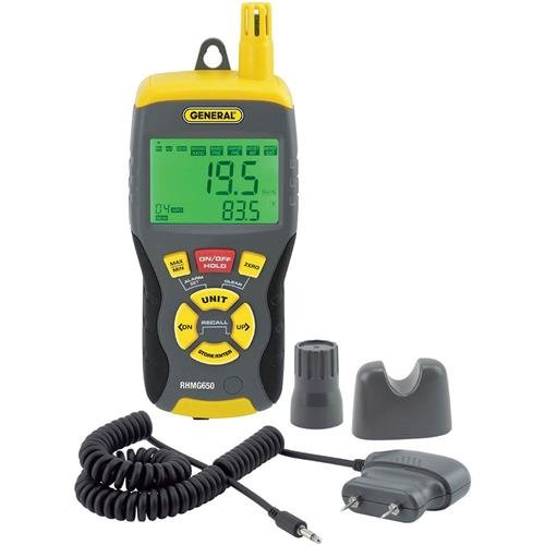 General Tools RHMG650 Thermo Hygrometer Moisture