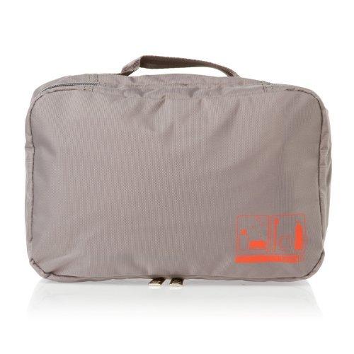 Flight001 Toiletry Bag Spacepak - Grey by