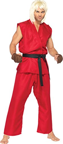 Leg Avenue Women's Street Fighter Ken Ad Medium