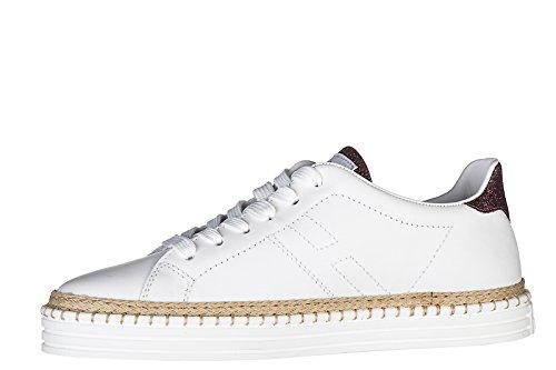 Hogan Rebel Damenschuhe Turnschuhe Damen Leder Schuhe Sneakers r260 fiorui cilie