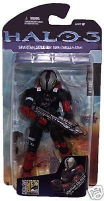 Halo 3 Series 2 Spartan Soldier EVA HELLSPARTAN by McFarlane Toys