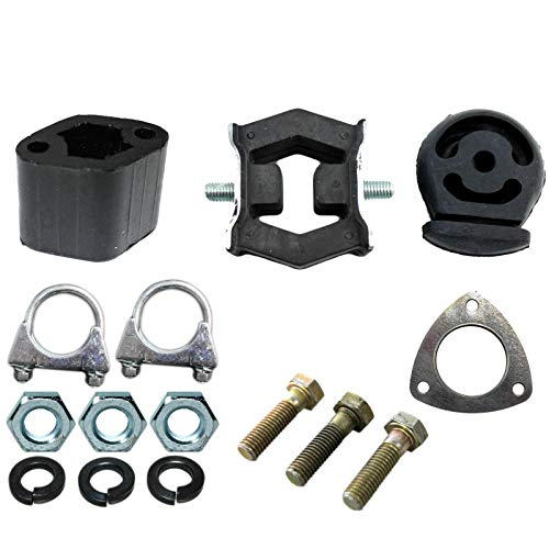 Assembly kit for exhaust system from CAT from Euro 4 with gas system: