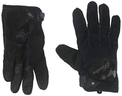 Glove Rocket Black Mesh Joe (Joe Rocket Women's Heartbreaker Glove (Black, Medium))