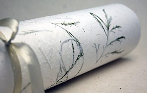 Tree Fern Handmade Wedding Invitation Seed Paper 3 Pack -
