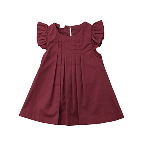 newEmergingstyle Baby Girl Summer Autumn Dress Kids Princess Party Tutu Dresses Clothes 0-5 Years