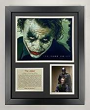 Legends Never Die The Joker Framed Photo Collage, 11x14-Inch