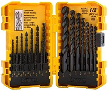 Black Oxide 25-Pc. Drill Bit Set