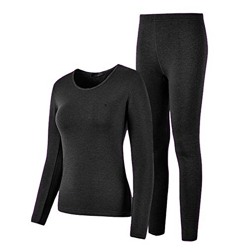 HEROBIKER Wonmen Thermal Underwear Set Winer Skiing Warm Top Thermal Long Johns