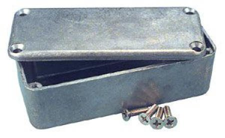 Diecast Aluminum Box - 4.37'' X 2.47'' X 1.07''