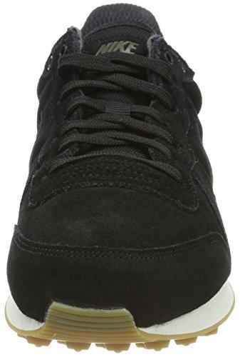 Nike Damen W Internationalistische Se Gymnastikschuhe Zwart (black / Zwart / Donkergroen / Gom Lichtbruin)