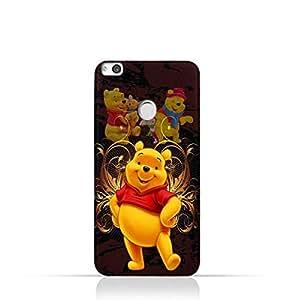 Huawei Nova Lite TPU Silicone Protective Case with Winnie the Pooh Design