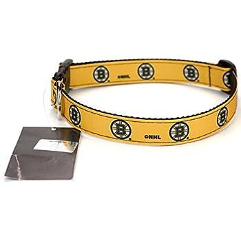 Bruins Black Dog Collar
