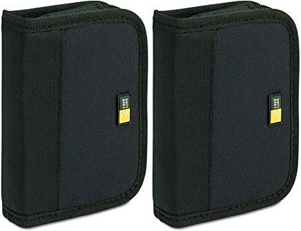 - (2Pack) - Case Logic JDS-6 USB Drive Shuttle 6-Capacity-Black