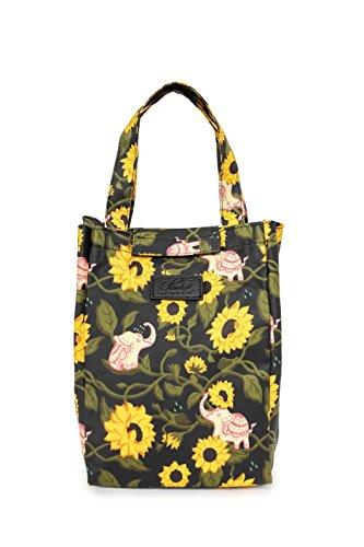 Fanloli Waterproof Lunch Bunch Bag in Elephant in Sunflower