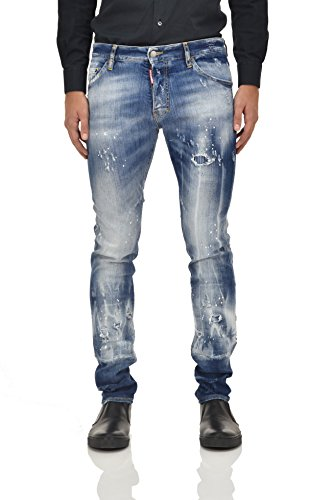 Dsquared2 Cool Guy Jean Blue Men's New - Size: 48