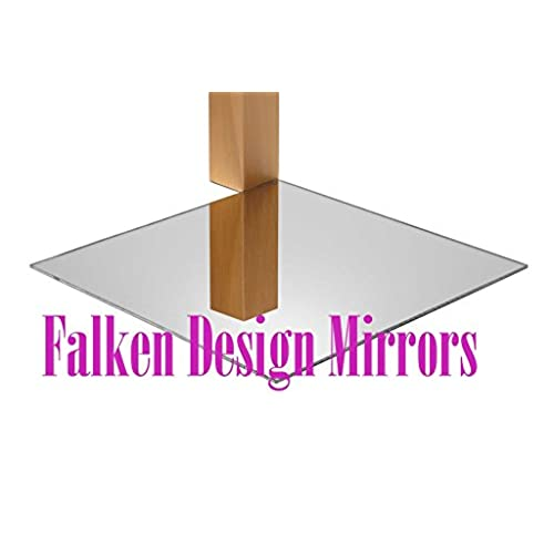 "Top Falken Design: 18"" x 30"" - 1/8"" ( 0.118"" ) Silver Mirror Acrylic Sheet + FREE CUT TO SIZE (via ""contact seller"") + DISPATCH THE SAME OR NEXT BUSINESS DAY! / Plexiglass Lucite supplier"