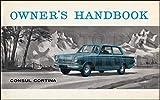 1963 Ford Consul Cortina Owner's Manual Original