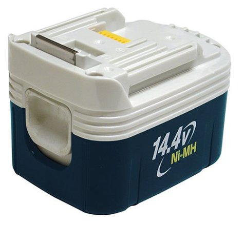 Makstar Battery - Makita 193352-7 BH1420 14.4-Volt 2.0 Amp Hour NiMH Slide Style Battery
