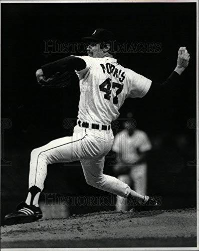 Historic Images - 1982 Vintage Press Photo Jack Morris Tigers - DFPD05217 ()