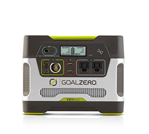 Goal Zero Yeti 400 Portable Solar Power Station with Boulder 50 Solar Panel