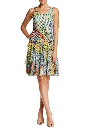 Signature-by-Robbie-Bee-Womens-Plus-Size-Printed-Ruffle-Dress-24W