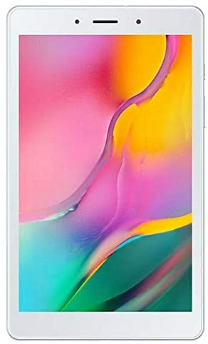 "Samsung Galaxy Tab A 8.0"" (2019, WiFi Only) 32GB, 5100mAh Battery, Dual Speaker, SM-T290, International Model (Silver)"