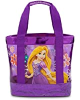Disney Store Princess Rapunzel Swim Bag Tote New Purple