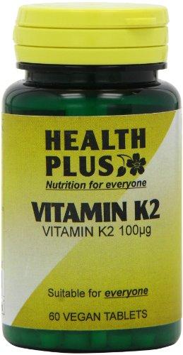 Health Plus Vitamin K2 100ug 60 tablet (60 Tabs Health Plus)