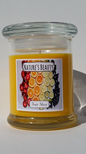 Slice Soy (All natural soy wax candle, fruit slice scented. Made by Nature's Beauty Candles)