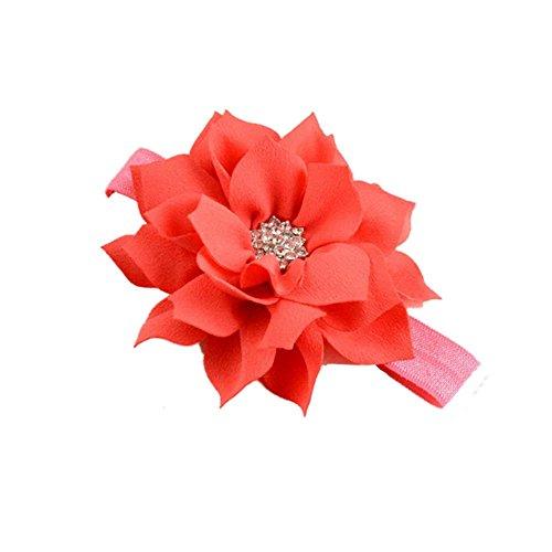 (LD DRESS New Girl Baby Headbands (1)(Watermelon red))