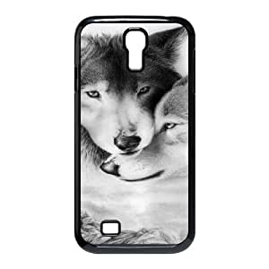 2 Wolves Phone Case For Samsung Galaxy S4 Black