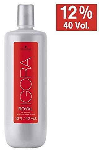 Schwarzkopf Igora Royal Oil Developer (with Sleek Tint Brush) 33.8 oz / 1000ml (12% / 40 Volume) by Igora by Schwarzkopf