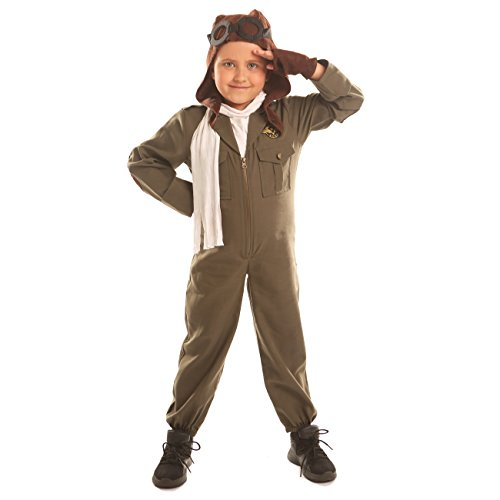 Tiggie Boys Air Force Pilot Halloween Costumes (Large)