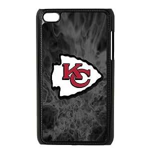 iPod Touch 4 Phone Case Black Kansas City Chiefs JIL661155