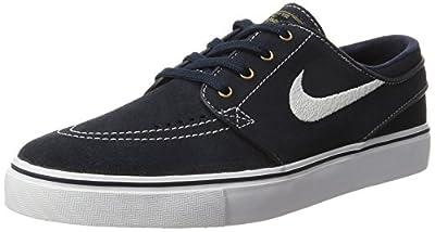 Nike Men's Zoom Stefan Janoski Drk Obsdn/Wht/Wht/Gm Lght BRWN Skate Shoe 7.5