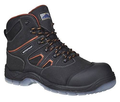 Portwest Workwear Compositelite All Weather Boot S3 WR - FC57 - EU / UK Schwarz