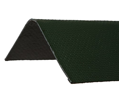 ONDURA 5254M Corrugated Asphalt Roof Ridge Cap, Mid West Green