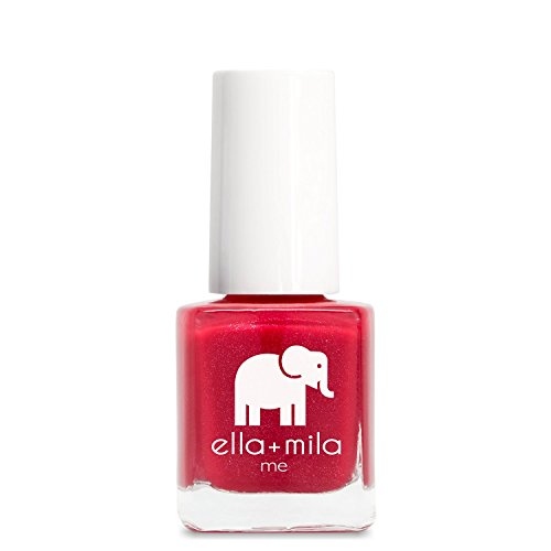 ella+mila Nail Polish, Me Collection - No Place Like Home (Red Non Toxic Nail Polish compare prices)