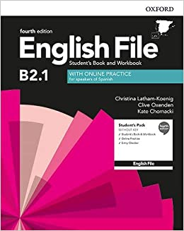 Book's Cover of English File 4th Edition B2.1. Student's Book and Workbook without Key Pack (English File Fourth Edition) (Español) Paquete de productos – 1 enero 2020