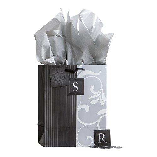 Medium Specialty Gift Bag - Wedding - Inspirational Monogram